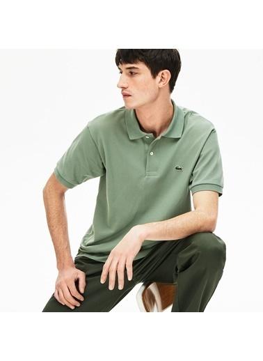 Lacoste Erkek L1221 Tişört L1212.S86 Yeşil
